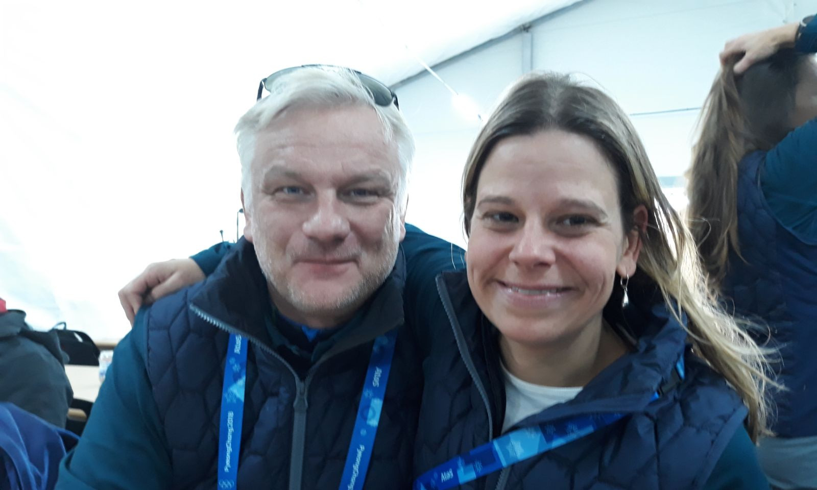 With my dear colleague and friend Björn Bjorklund (former Swedish Alpine Skier)