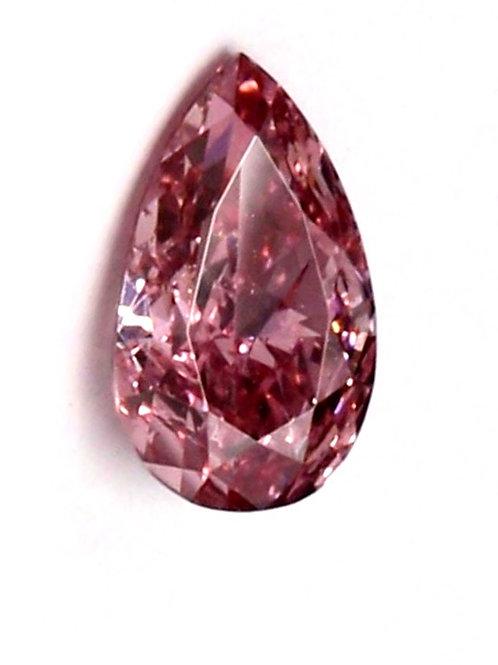 Diamant Rose, diamant rose fancy vivid certificat GIA
