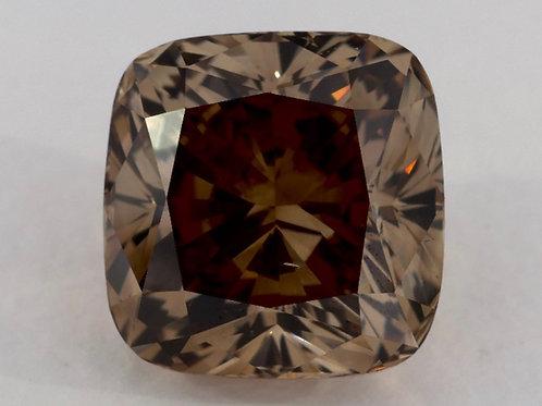 Vente en ligne diamant marron 10 carats certificat GIA
