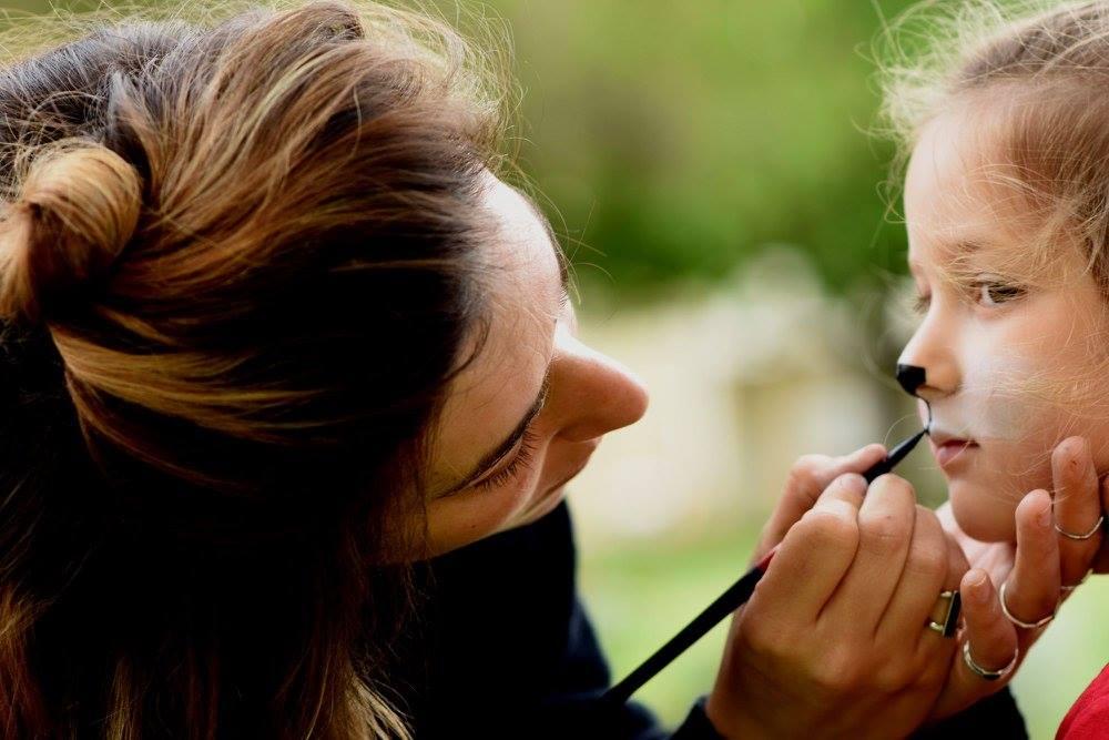 ציור פנים לילדים