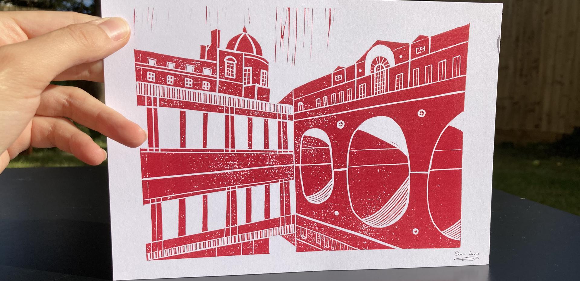 Pulteney Bridge (red)