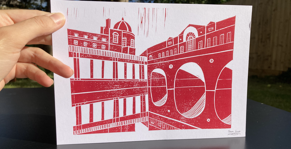 Pulteney Bridge (red)