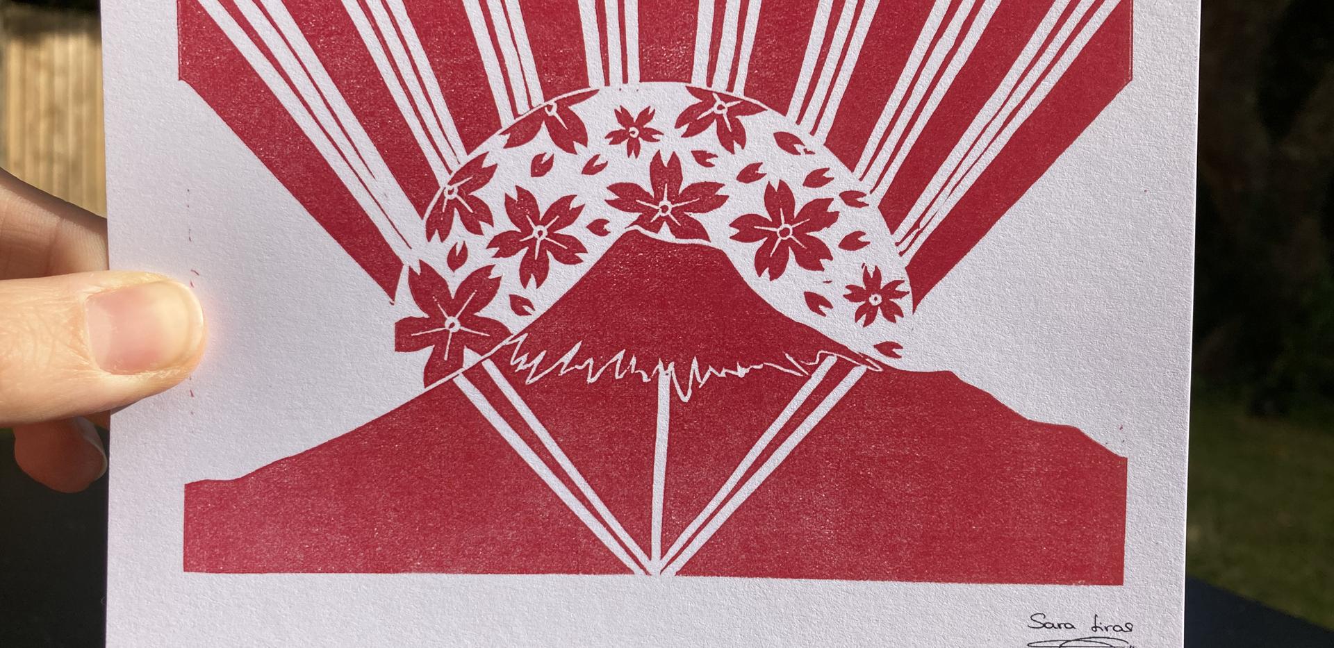 Sakura Sun Fuji-san