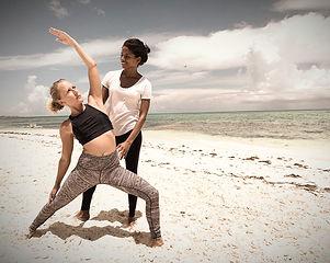 private beach yoga turks and caicos