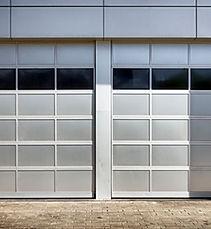 Portes de garage métalliques