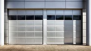 Metal portas de garagem