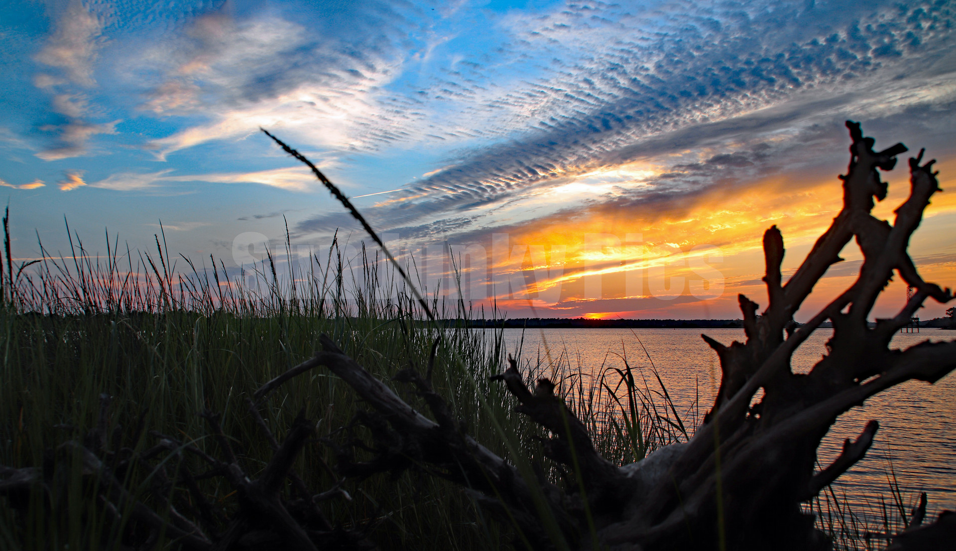 Cape Fear Sunset  Feature of the day on Digital SLR Photography Magazine site