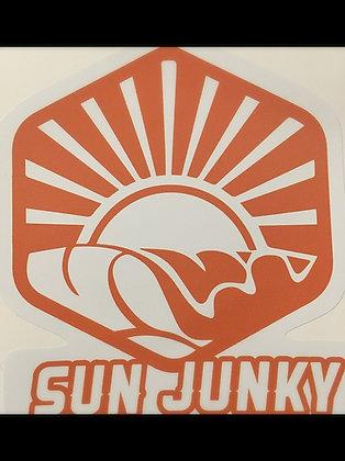 New Sun Junky Car Decals