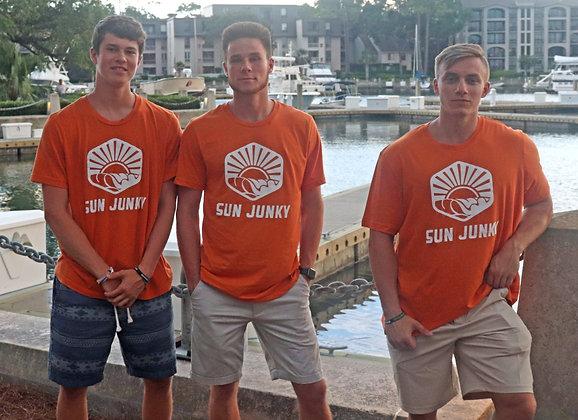 Orange Sun Junky Shirts- Traditional Cut Style
