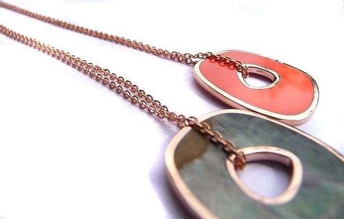 Necklaces enamel pendant