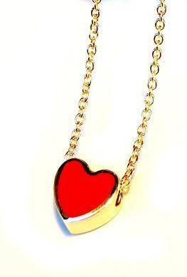 "Necklace ""Red Heart"""