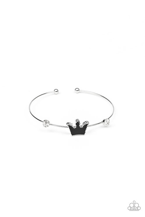 Starlet Shimmer You Should See Me In A Crown Bracelet - Black