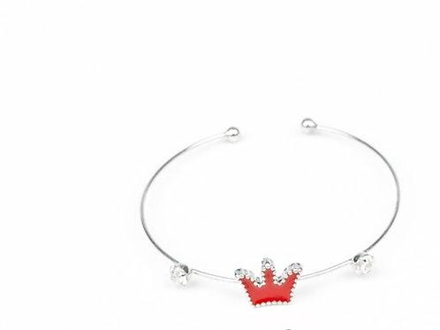 Starlet Shimmer You Should See Me In A Crown Bracelet - Red