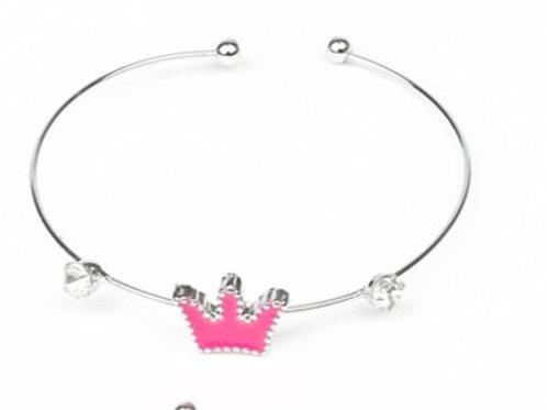 Starlet Shimmer You Should See Me In A Crown Bracelet - Pink