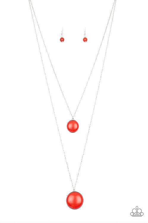 Desert Medallions - Red