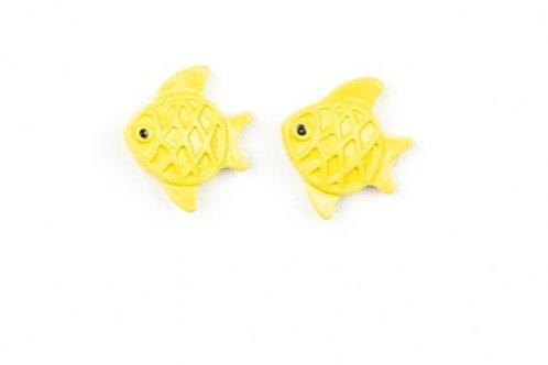 Starlight Shimmer Post Earrings - Fish