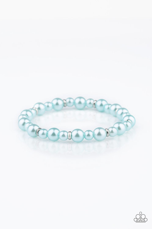 Powder and Pearls - Blue
