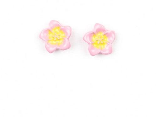 Starlight Shimmer Post Earrings - Flower