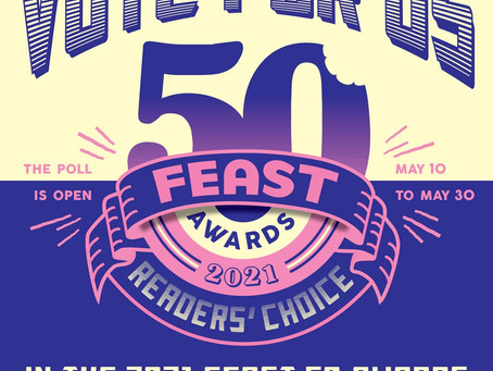 We've been nominated!! Please take a minute and vote for us.