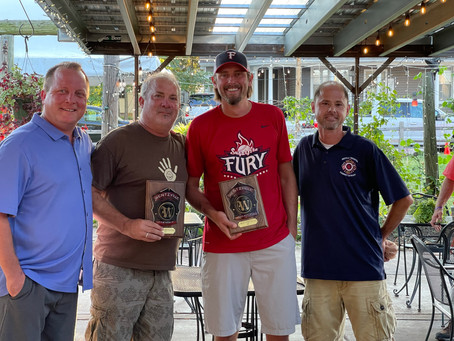 Friendship and Brian Nolan Receive a Firefighter's Community Outreach Award.