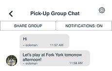 sports pickup chat