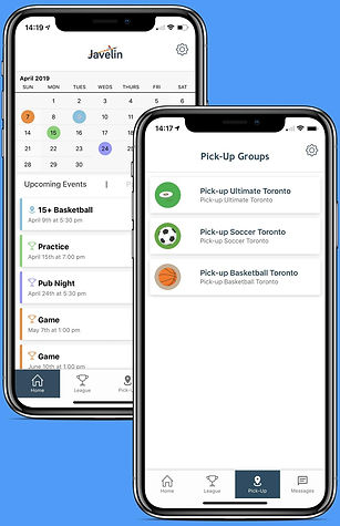 sports and team management app