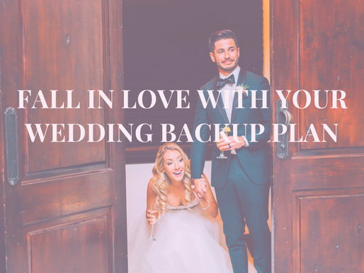 Fall in LOVE with your Backup Plan