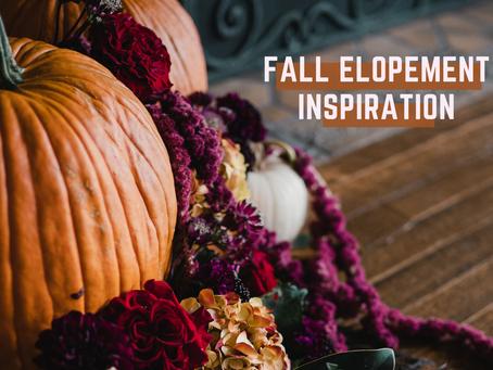 Pumpkins, Mausoleums, and Elopements, Oh my!