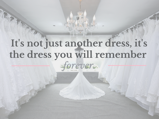 The 411 on Wedding Dress Alterations