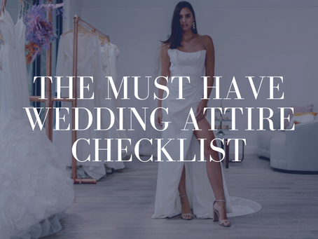 Bride's Wedding Attire Guide