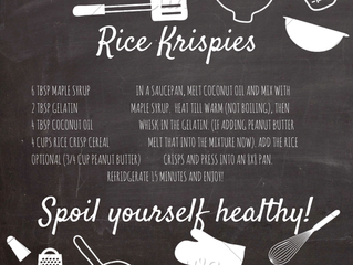 Rice Krispies can be a healthy snack!