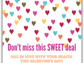 February = Fibromyalgia + V-Day