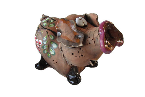 Ceramic Pig Big Money bank