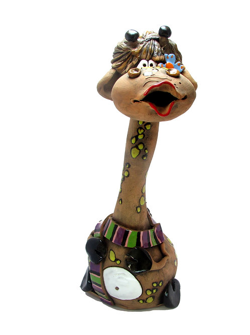 Ceramic Giraffe Big Money Bank