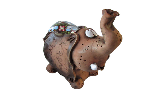 Ceramic Elephant Big Money Bank