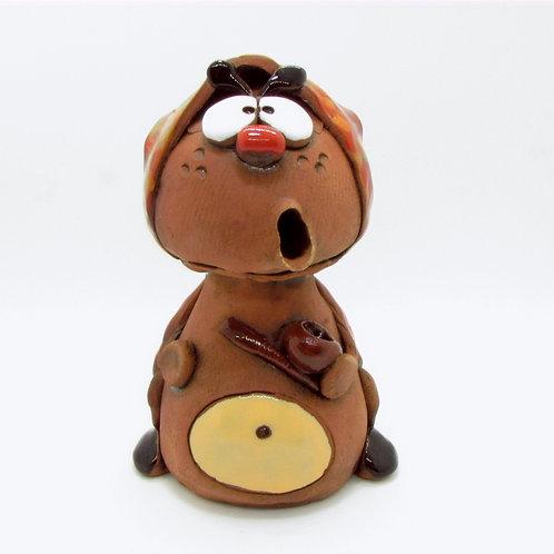 Ceramic Ladybird Incense Cone Burner