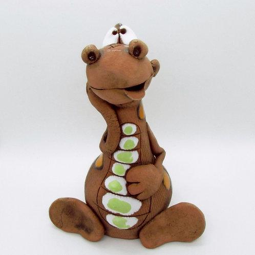 Ceramic Dragon Figurine