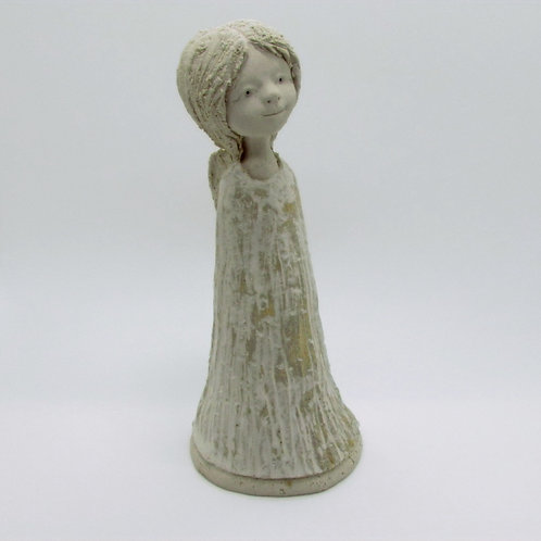 Ceramic Figurine Guardian Angel