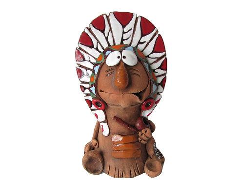 Ceramic Indian Incense Cone Burner