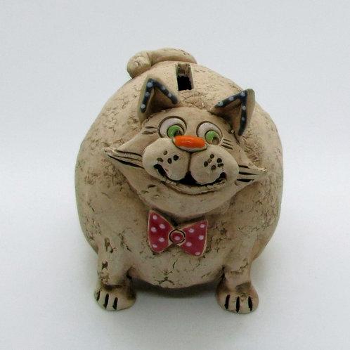 Ceramic Cat Money Bank
