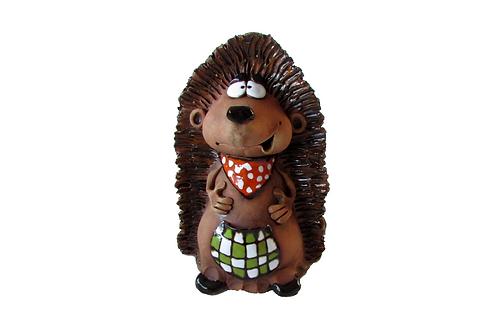 Ceramic Hedgehog Money Bank