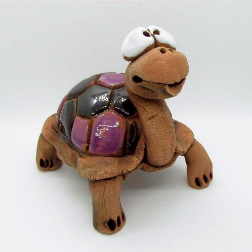 Ceramic Turtle Figurine