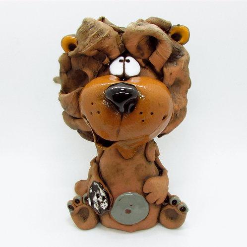 Ceramic Lion Incense Cone Burner