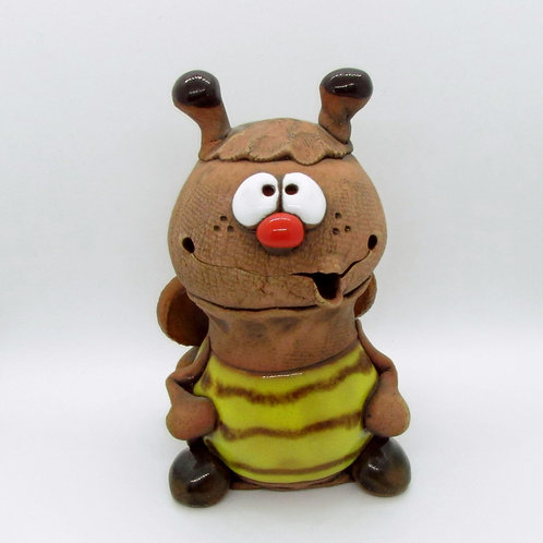 Ceramic Bumble Bee Figurine