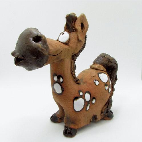 Ceramic Spotty Horse Incense Cone burner
