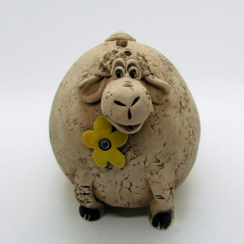 Ceramic Sheep Money Bank