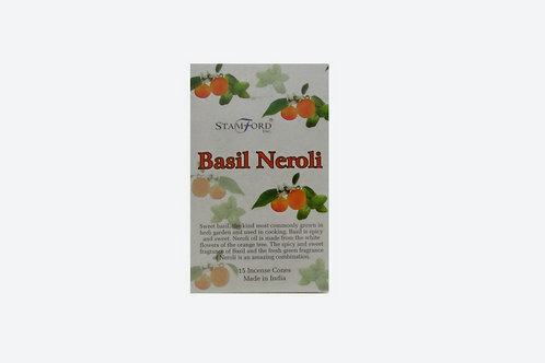 Basel Neroli Incense Cones