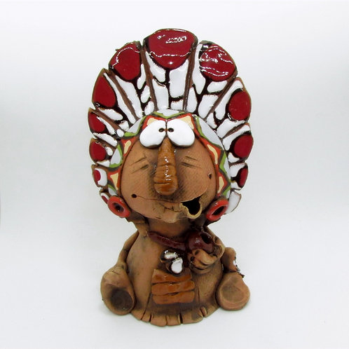 Ceramic Indian Incense Cone Burner