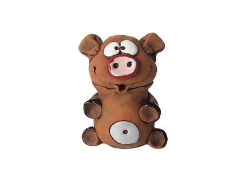 Ceramic Pig Figurine