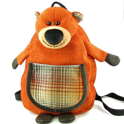 Handcrafted Bear Backpack